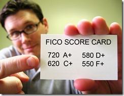 FICO Score Card